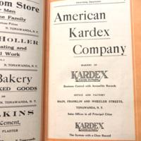 American Kardex Company, ad (City Directory, 1923).jpg