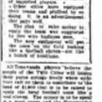Team Is After Eastern Title, All Tonawandas, article (Tonawanda News, 1928-08-28).jpg