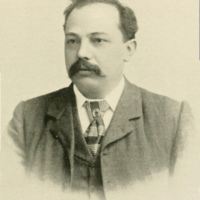 Eugene de Kleist portrait (Landmarks of Niagara County, 1897 PD).jpg