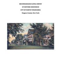Reconaissance Level Survey of Historic Resources of City of North Tonawanda (kta preservation, 2019) cover.jpg