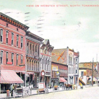 View On Webster Street, postcard (1911).jpg