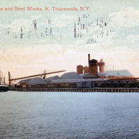 Tonawanda Iron and Steel Works, postcard (1910).jpg