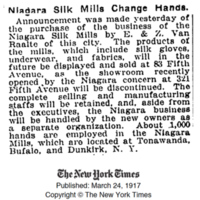 Niaga Silk Mills Changes Hands, article (New York Times, 1917-03-24).jpg