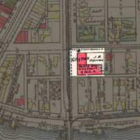 Site of former City Hall, Main and Tremont, map (1908).jpg