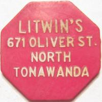 Litwin's Trade Token, 671 Oliver (c1950).jpg