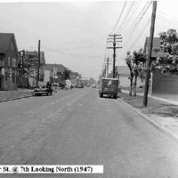 Oliver Street at 7th Ave looking north, photo (1947).jpg