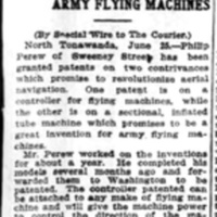 Patents relate to aerial navigation, article (Buffalo Courier, 1910-06-26).jpg