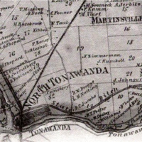 North Tonawanda map (1875, Beers Atlas of Niagara and Orleans, from Underground Railroad Heritage).jpg