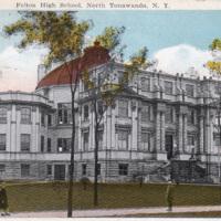 Felton High School, North Tonawanda, postcard (1924).jpg