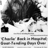 Charlie Back in Hospital, Goat-Tending Days Over, article (Tonawanda News, 1970-01-24).jpg