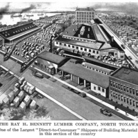 Plant of the Ray H Bennett Lumber Co., illustration (Greater Buffalo NY Undustrial Commercial, 1914).jpg
