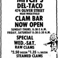 Mitch's Del-Taco, 474 Oliver, ad (1980-07-12).jpg