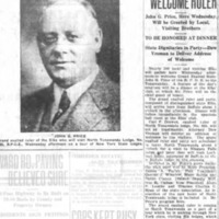 Many Elks to Welcome Ruler, article (Tonawanda News, 1925-02-09).jpg
