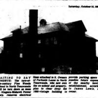 Pine Woods School awaits demolition, photo article (1983-10-15, Tonawanda News).jpg