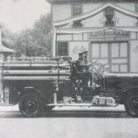 Rescue Fire Hall engine, Martinsville, photo (c1927).jpg
