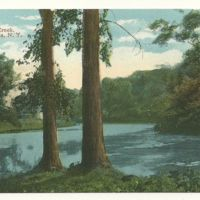 On Elliot (sic) Creek, Tonawanda NY, illustrated postcard.jpg