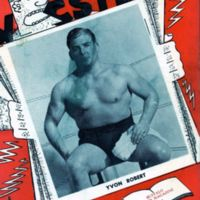 Four Corner Wrestling Club, program, cover (1950-04-28).jpg