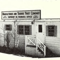 Manufacturers and Traders Temporary Headquarters, North Tonawanda, photo (1965).jpg