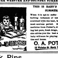 OA Potter, 58 Webster, ad (Tonawanda News 1896-08).jpg