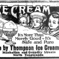 Thompson Ice Cream Company, ad (Tonawanda Evening News, 1908-05-00).jpg