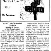 Meet Your Street - Clinton Street in Tonawanda (Tonawanada News, 1969-05-24).jpg