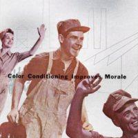 Workers, Du Pont Color Conditioning Paint System sales brochure (Hagley archive, c1951).jpg