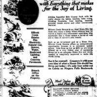 Ellicott Creek Estates, ad (Buffalo News, 1926-09-27).jpg