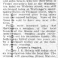 Bodies of Washington Hotel dead unclaimed, article (Tonawanda News, 1924-12-27).jpg
