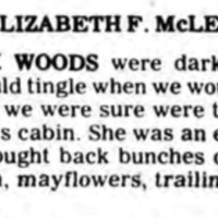 McLean briefly temembers Black Hannah cabin, article (Tonawanda News, 1976-12-18).png