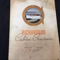 Richardson Cabin Cruisers, catalog and proce sheet (1941).jpg