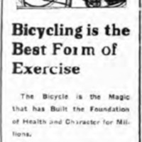 F.J. Errick Bicycles, 236 Oliver, ad (Tonawanda News, 1922-06-26).jpg