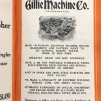 Gillie Machine Company, ad (City Directory, 1923).jpg