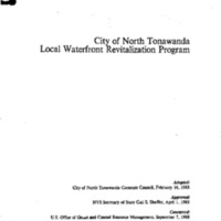 Waterfront Revitalization Plan, City of North Tonawanda (1988).pdf