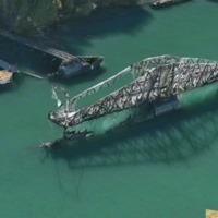 Northern swing bridge closeup (Apple map, 2016).png