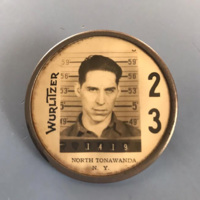 Wurlitzer employee badge of Jerold Neff (Carl Neff).jpg