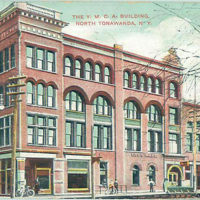 The YMCA Building, postcard (1909-08-27).jpg