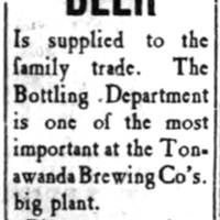 Tonawanda Beer, ad (Tonawanda Evening News, 1907-04-11).jpg