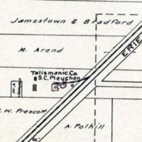 Talismanic Company, SC Peuchen, map (1908).jpg