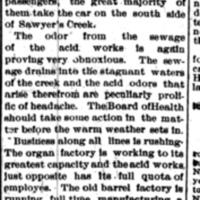 Sawyers Creek Industries Booming, article (Tonawanda News, 1900-05-24).jpg