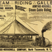 Armitage-Herschell Steam Riding Gallery, ad (1894).jpg