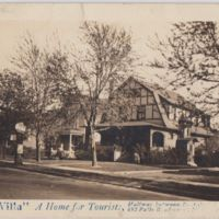 The Villa Roadside Inn, photo postcard.JPG