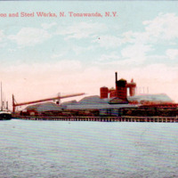Tonawanda Iron and Steel Works, postcard (1912-07-05).jpg