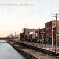 Erie Canal and South Niagara Street, postcard (c1910).jpg