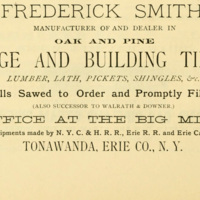Frederick Smith Bridge and Building Timber, ad (Commerce, Manufactures and Resources of Buffalo and Environs, 1880).jpg