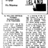 Meet Your Street - Island Street (Tonawanada News, 1969-12-08).jpg