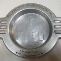 Rudzinski Grocery, 653 Oliver, engraved ashtray (c1940).jpg