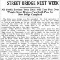 Start removal of Main-Delaware Street bridge next week, article (Tonawanda News, 1928-08-28).jpg