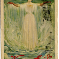 Niagara Silk Mills - Niagara maid illustration (1908).jpg