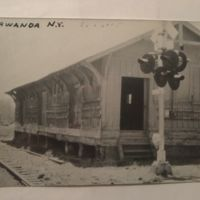 Train depot, Tonawanda, photo postcard.jpg