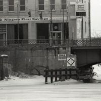 Bascule bridge in winter, Niagara First Savings (c1978).jpg